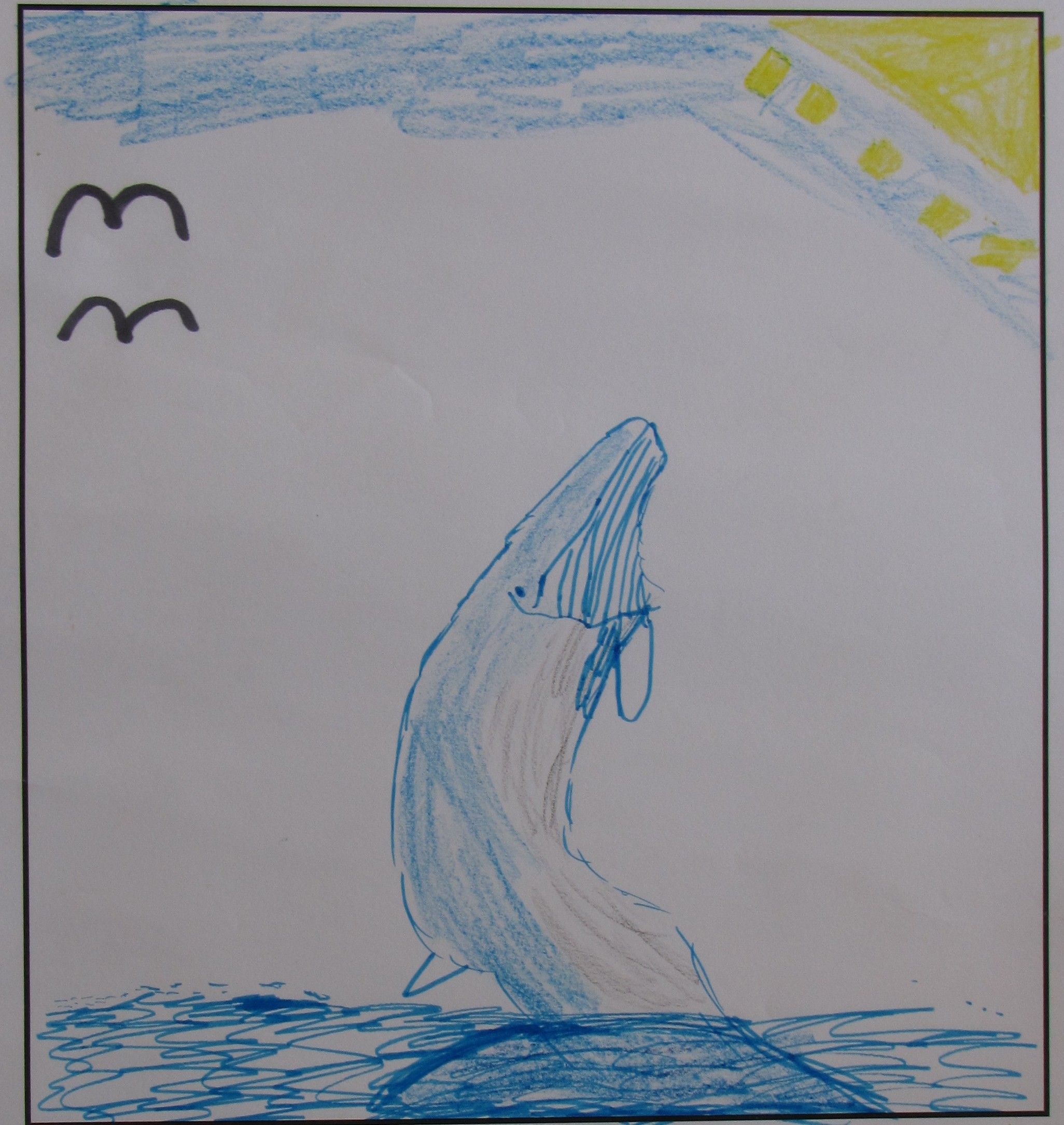 'The Whale Adventure' by Jessica McNeilly, Age 7