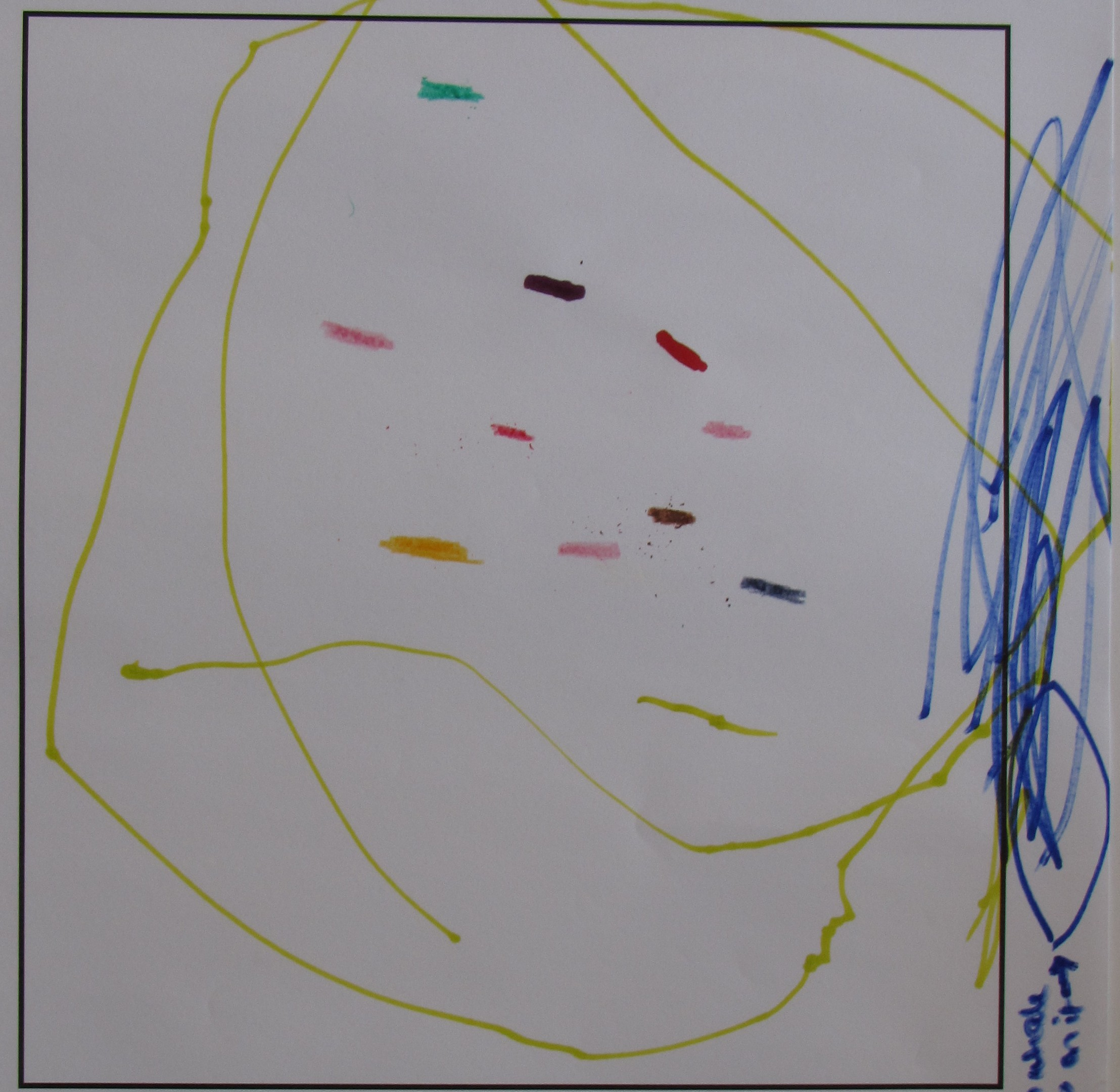 'Colourful Whale' by Ingrid tucker, Age 3