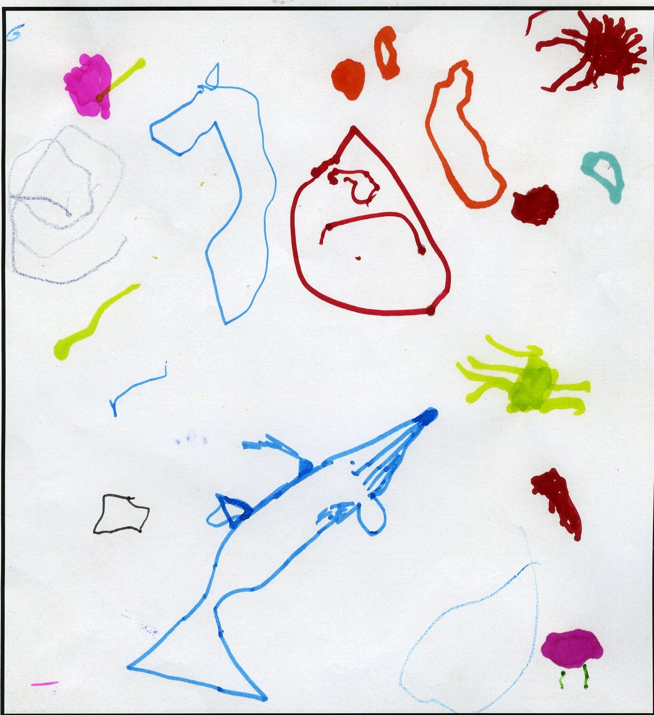 'Rosetta' by Willa Stitchbury, Age 4.
