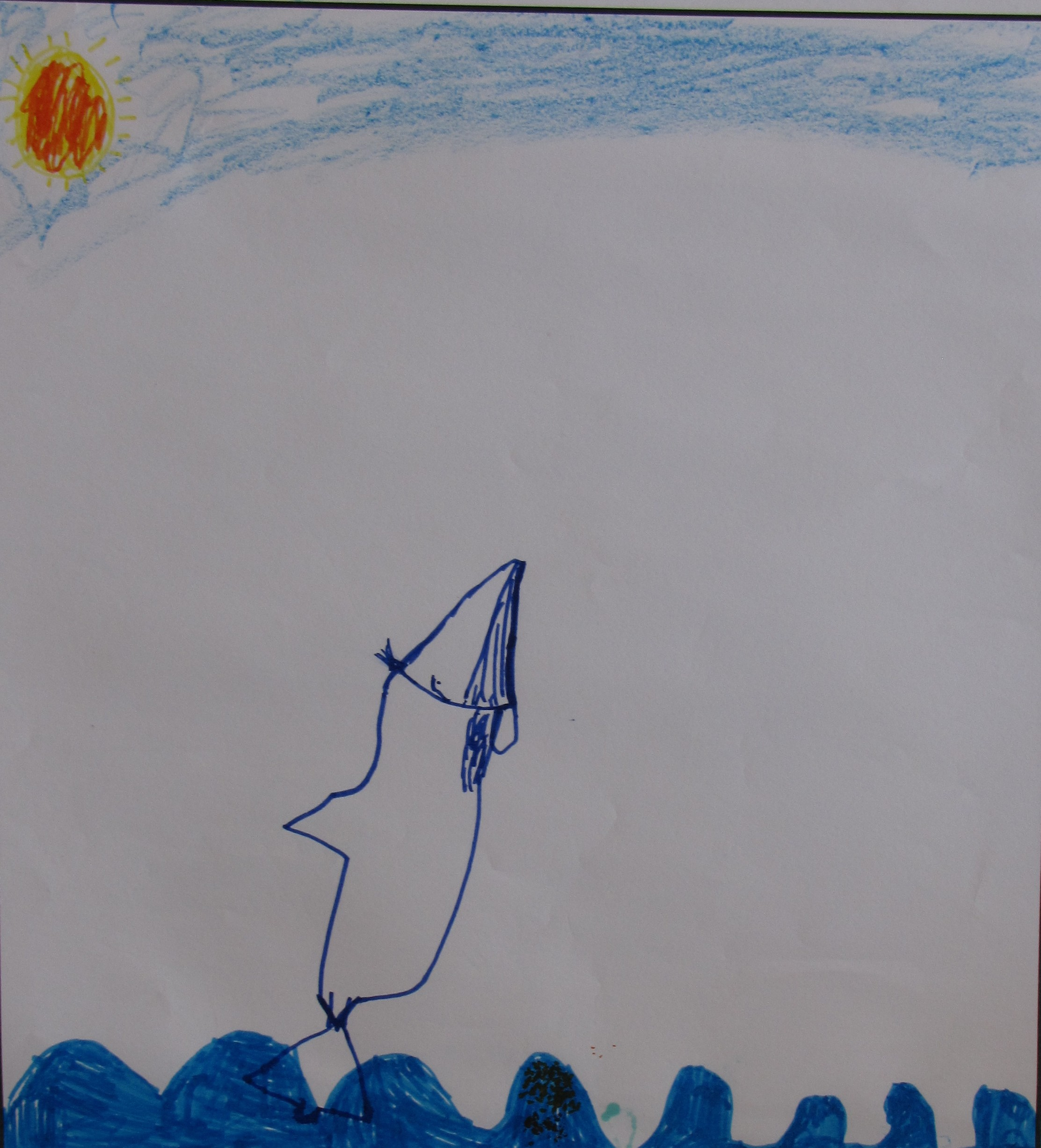 'Highlander' by Jessica McNeilly, Age 7.